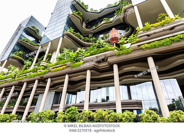 Parkroyal Hotel. Singapore, Asia