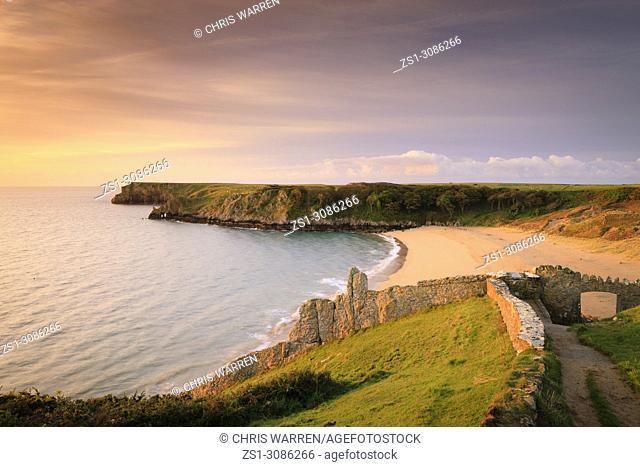 Barafundle Bay Pembroke Pembrokeshire Wales