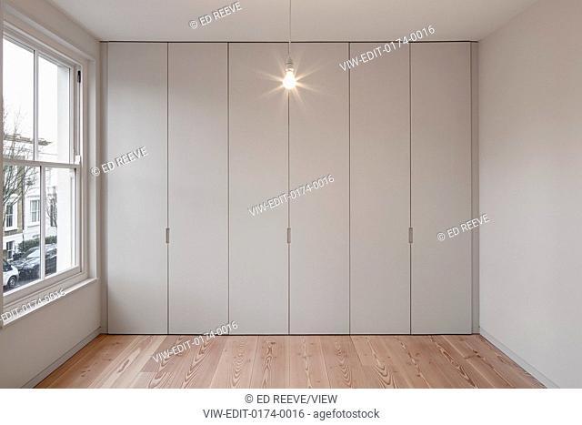 Bedroom view. Residence Ockendon Road, London, United Kingdom. Architect: APA London , 2016