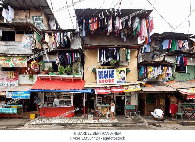 Philippines, Luzon island, Manila, Intramuros historic district, the homes of neighborhoods