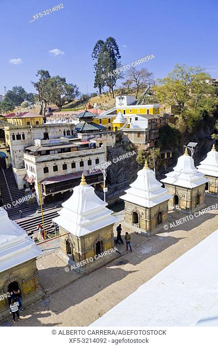 Pashupatinath Temple, Kathmandu, Nepal, Asia