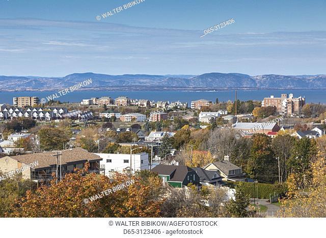Canada, Quebec, Bas-Saint-Laurent Region, Riviere-du-Loup, skyline