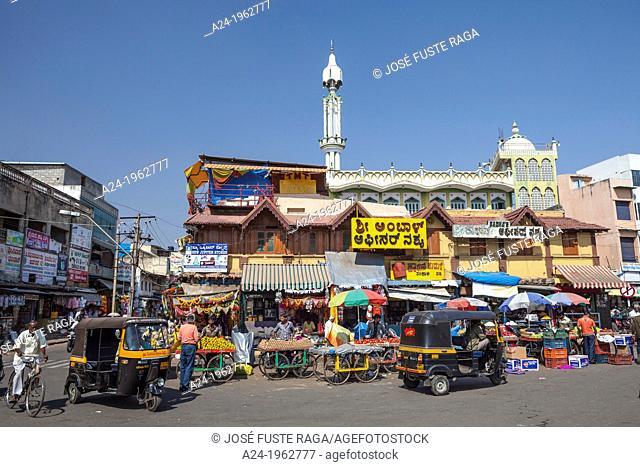 India , Karnataka State , Mysore City, Devarala Market