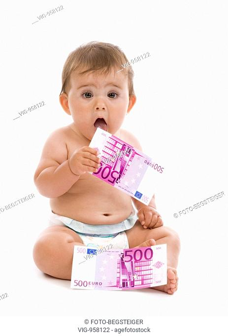little child with money. - 13/08/2008