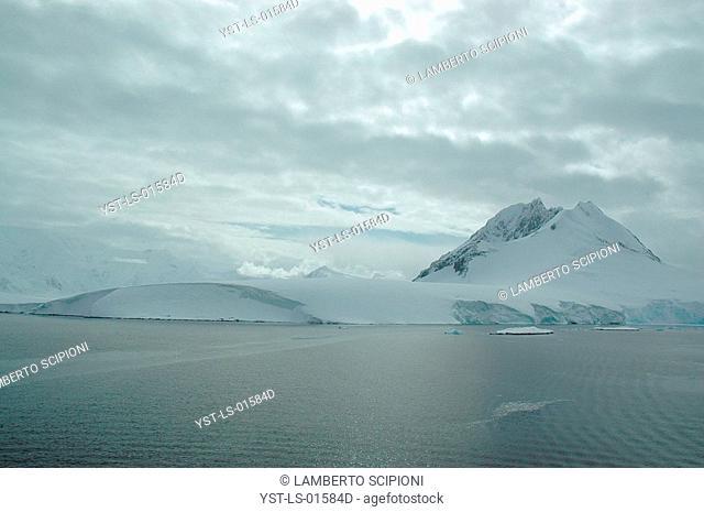 Iceberg, Glacier, Polar Desert, Lemaire, Antarctica