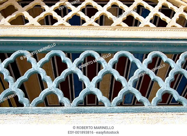 moroccan architectural ornament