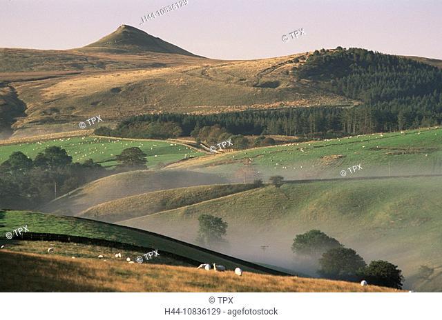 UK, England, Europe, Derbyshire, Peak District, Buxton, Countryside, English Countryside, Landscape, Green Fields, Uni