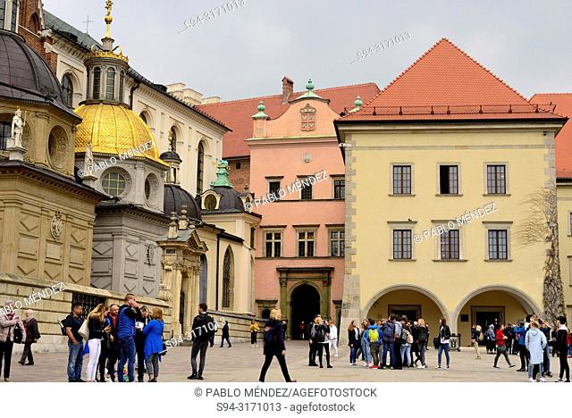 Wawel: Detail of the cathedral, Krakow, Poland