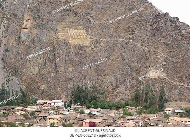 Ollantaytambo, Worth Sacred of Los Incas, Region of Cusco, Lima, Peru
