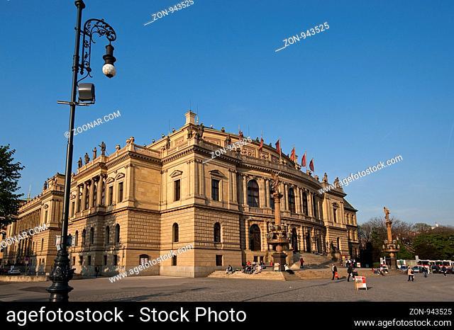 Rudolfinum, Prag, Tschechien | Rudolfinum, Prague, Czech Republik