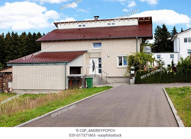 Dream house with car garage
