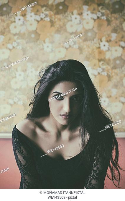 Portrait of a beautiful Asian woman