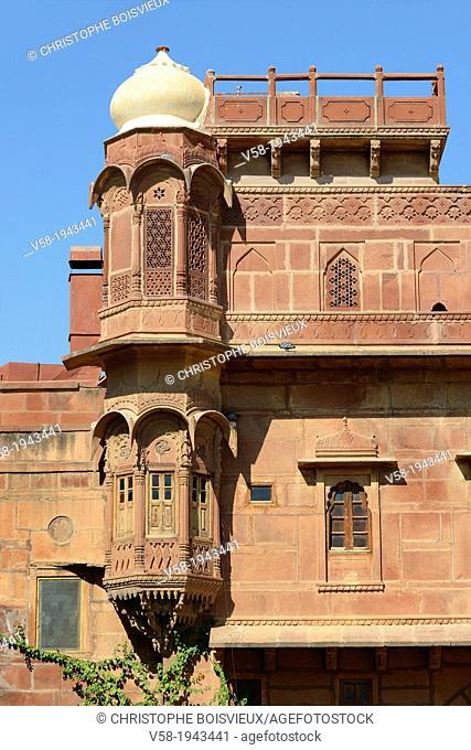 India, Rajasthan, Jaisalmer region, Pokaran fort
