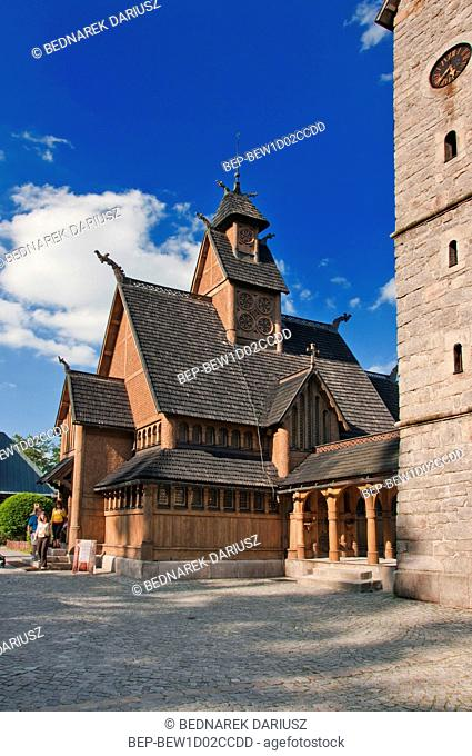 Vang stave church, Karpacz, Lower Silesian Voivodeship, Poland