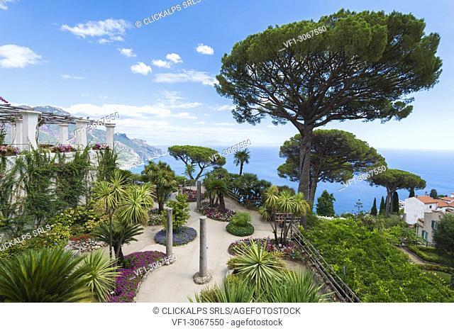 Villa Rufolo, Ravello, Salerno province, Campania, Italy