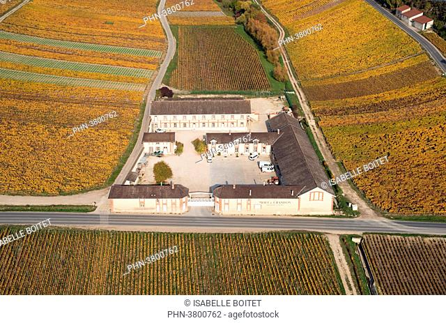 France, Champagne-Ardenne, the Marne ( 51 ), Epernay, wine storehouse of champagne Moët and Chandon