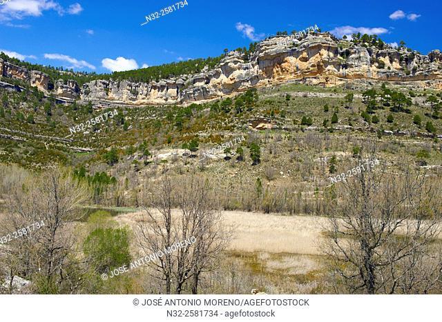 Uña. Uña Lagoon, Serrania de Cuenca Natural Park, Cuenca Province, Castilla La Mancha, Spain