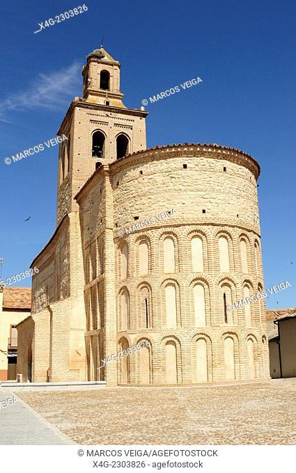 Santa María Church. Arévalo, Segovia, Spain