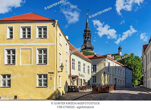The Cathedral Hill (Toompea) is located in the upper town of Tallinn. On the Cathedral Hill is the The Cathedral of Saint Mary the Virgin in Tallinn (Tallinna...