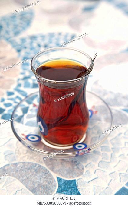 Tea, glass, beverages, Turkey