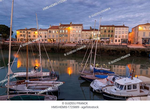 France, Charente Maritime, Ile de Re, Sainte Martin de Re