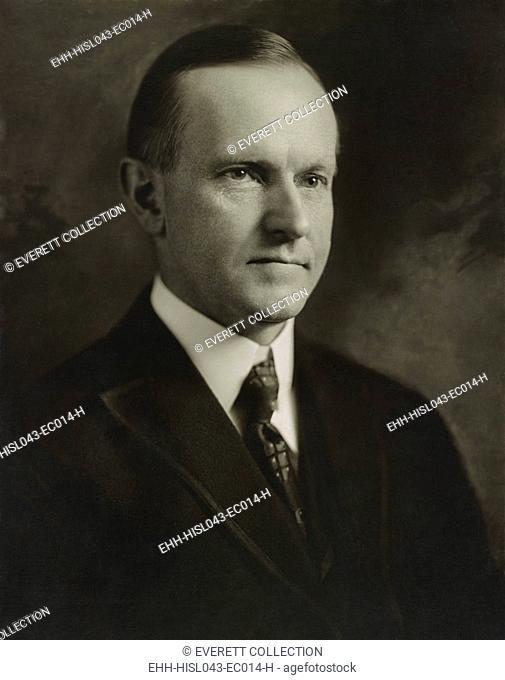 Gov. Calvin Coolidge of Massachusetts in 1920 as Republican nominee for Vice President. Photo by John H. Garo, Boston (BSLOC-2016-8-58)