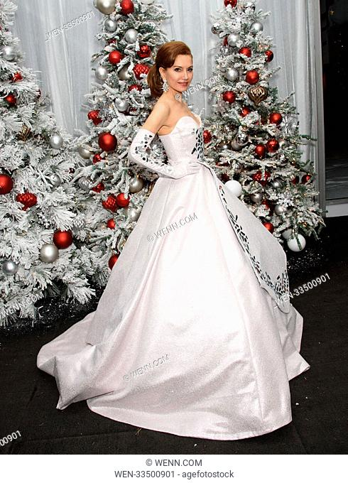 2017 NYBG Winter Wonderland Ball Featuring: Jean Shafiroff Where: New York City, New York, United States When: 16 Dec 2017 Credit: WENN.com