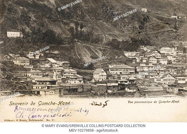 Village of Gumushane in the Gumushane Province near Trabzon on the Black Sea coast in north-eastern Turkey