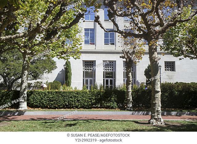 Le Conte Hall, UC Berkeley, Berkeley, California, United States