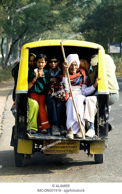 India, Haryana, public transport
