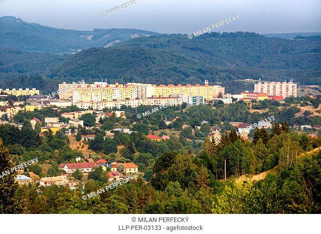 Banska Stiavnica, Housing estates - Slovakia