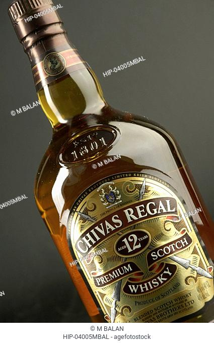 CHIVAS REGAL SCOTCH WHISKY AND GLASSES