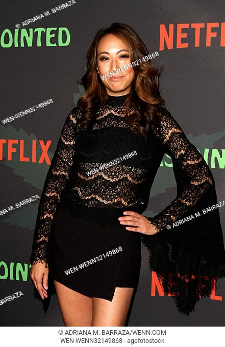 Disjointed Premiere Screening held at the Netflix Theatre in Hollywood Featuring: Elizabeth Ho Where: Los Angeles, California