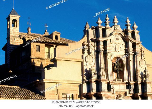 Real Alcázar Santuario de la Vera Cruz. Caravaca de la Cruz. Murcia. Spain