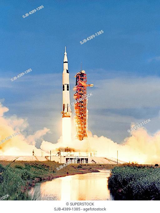 Launch of Apollo 15