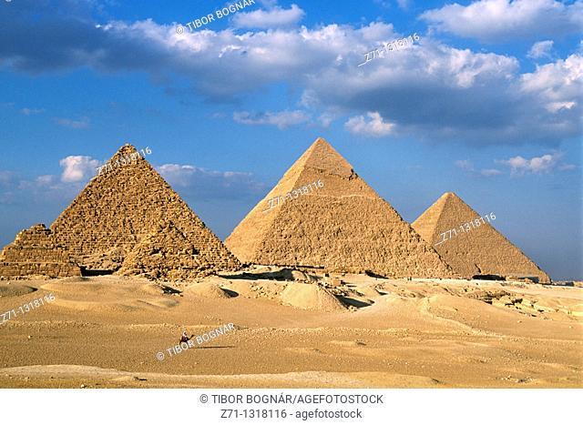 Egypt, Cairo, Giza, Pyramids
