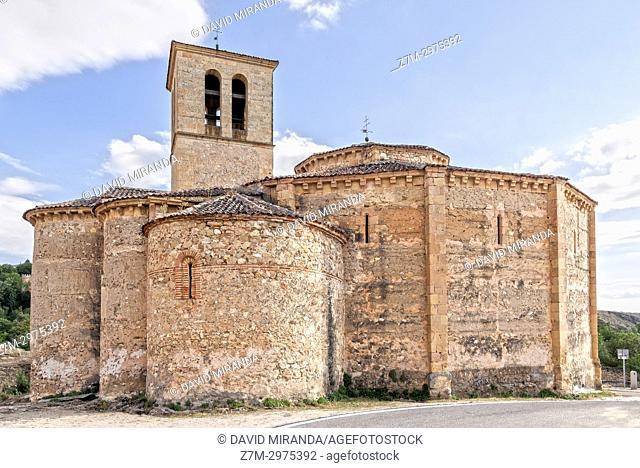 Iglesia de la Vera Cruz. Segovia. Castilla León. España. Ciudad patrimonio de la humanidad. Unesco