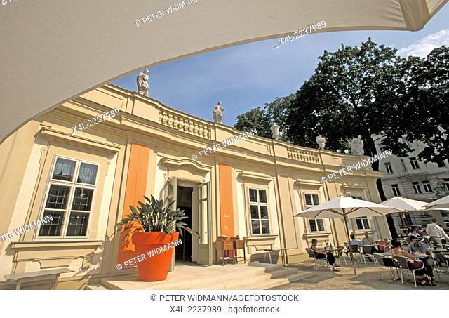 Palais Liechtenstein, Brasserie Rubens, Austria, Vienna, 9. district