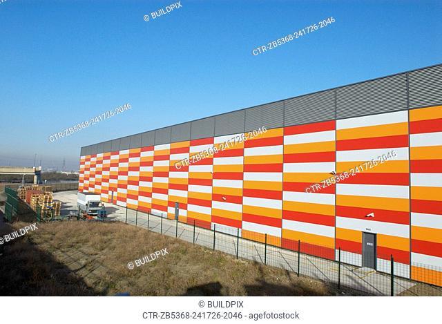 Warehouse, Beckton, London, UK