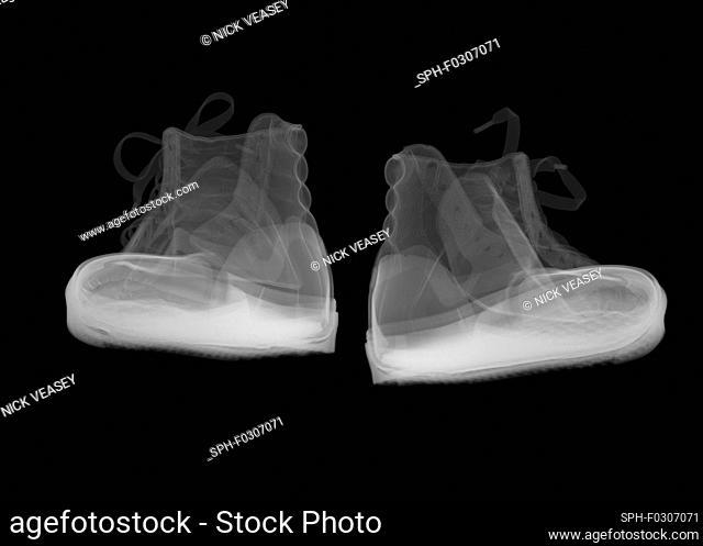 Fashion bumper boots, X-ray