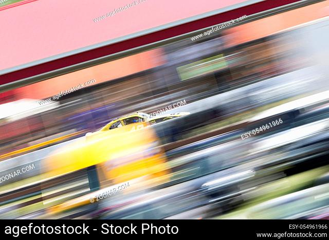August 11, 2018 - Lexington, Ohio, USA: Justin Marks (42) races off the turn during the Rock N Roll Tequila 170 at Mid-Ohio Sports Car Course in Lexington, Ohio