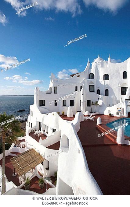 Casapueblo hotel and art gallery of artist Carlos Paez Vilaro, Punta Ballena, Punta del Este area, Uruguay