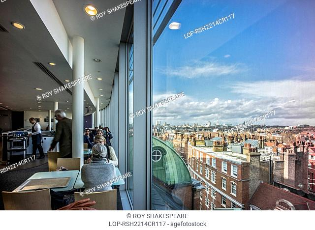 England, London, Kensington and Chelsea. The view from Peter Jones department store on Sloane Square in London