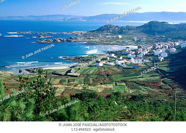 Arou, Costa da Morte. La Coruña province, Galicia, Spain