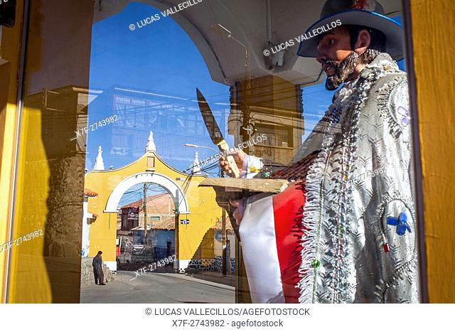 San Bartolome and Arco de Mejillones,Calle de mejillones, Potosi, Bolivia