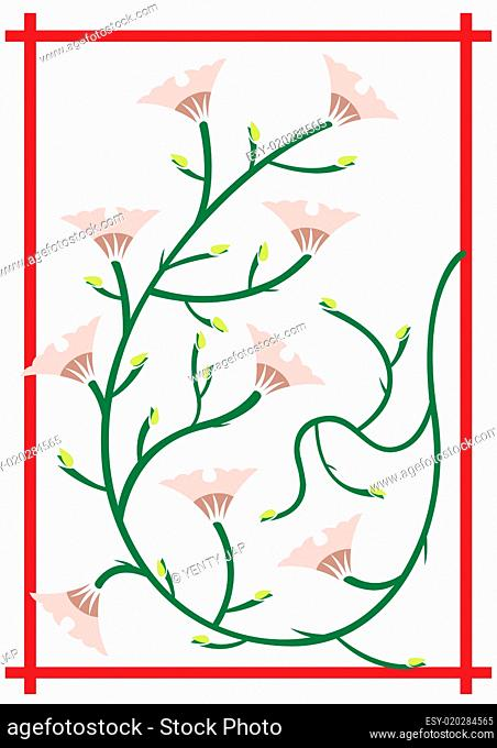 Japanese flower decoration