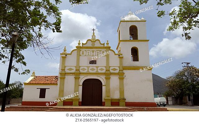 Old Spanish church building, Paraguana Peninsula, Falcon State, Venezuela