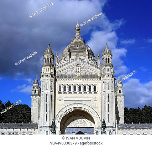 Basilica of St. Therese, Lisieux, Calvados departement, Lower Normandy, France