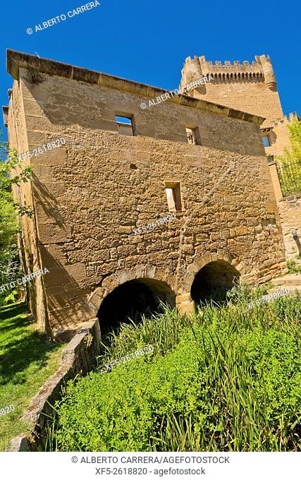 Ancient Laundry, 1. 862, Cuzcurrita del Río Tirón, La Rioja, Spain, Europe