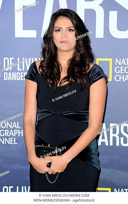 National Geographic's 'Years Of Living Dangerously' New Season World Premiere at The American Museum of Natural History - Red Carpet Arrivals Featuring: Cecily...